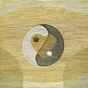 Living in Balance - Yin-Yang Ginkgo
